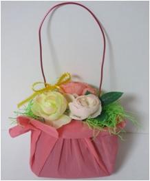 春のおしゃれフラワーバッグ